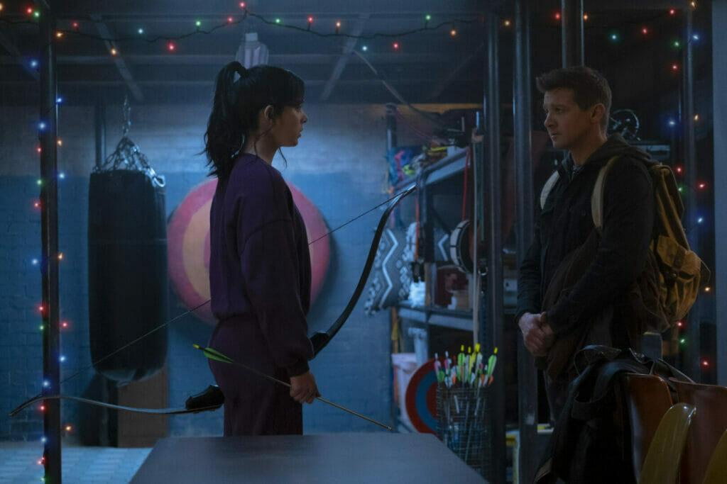 Hawkeye and Kate Bishop Disney+ The Nerdy Basement