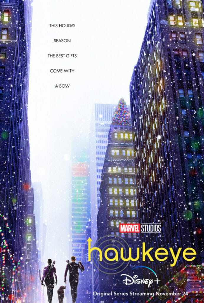Hawkeye Poster The Nerdy Basement