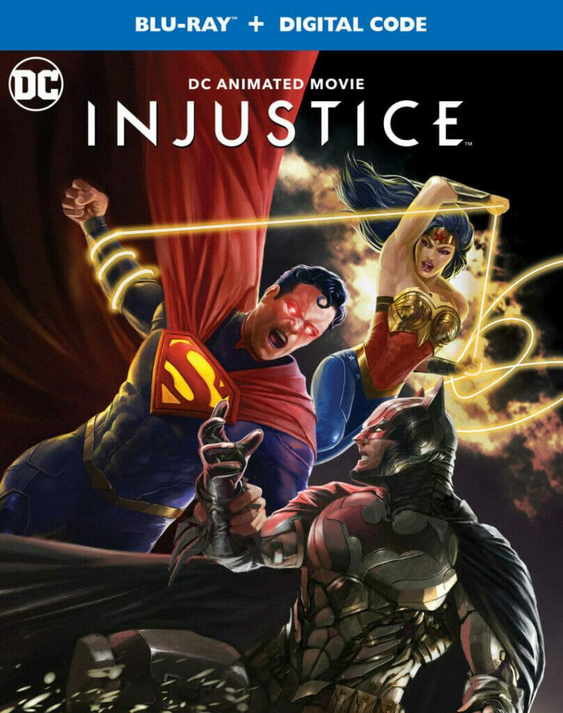 Injustice Blu-Ray The Nerdy Basement