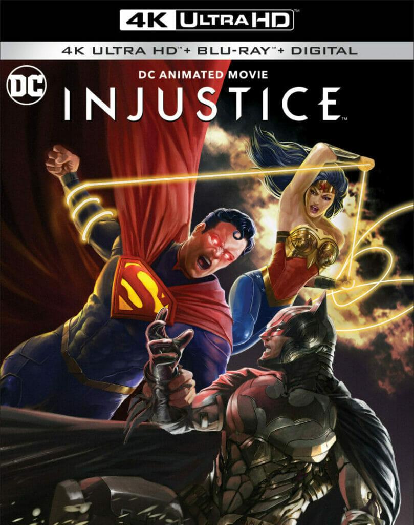 Injustice 4K UHD The Nerdy Basement