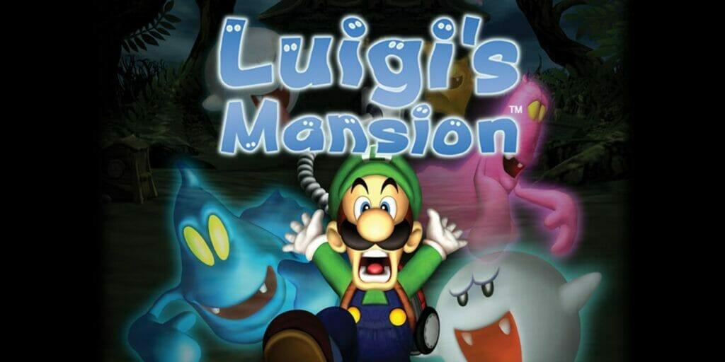 Luigi's Mansion Nintendo GameCube The Nerdy Basement