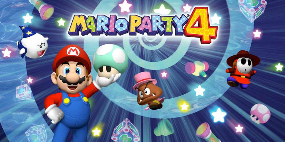 Mario Party 4 Nintendo GameCube The Nerdy Basement