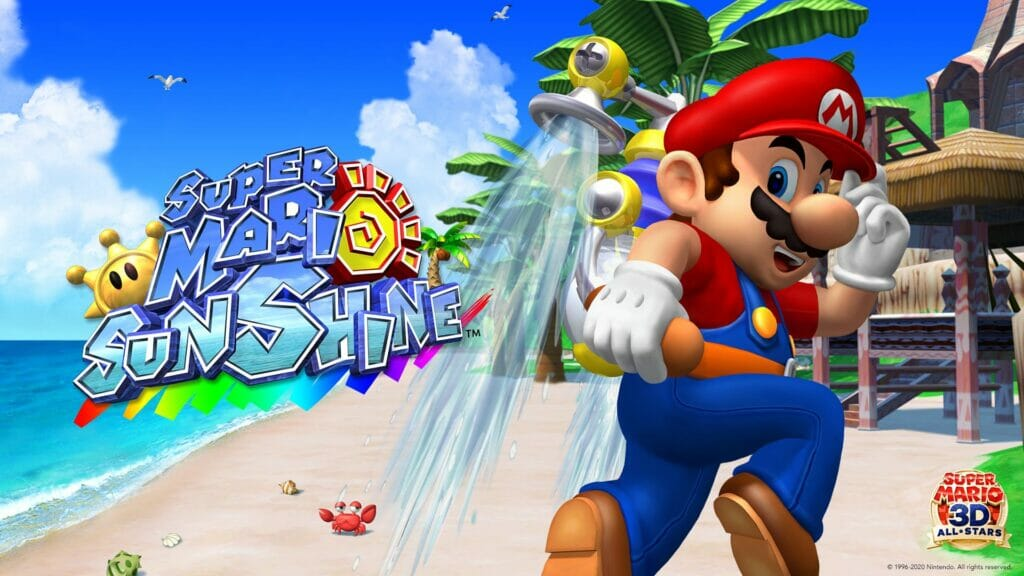 Super Mario Sunshine Nintendo GameCube The Nerdy Basement