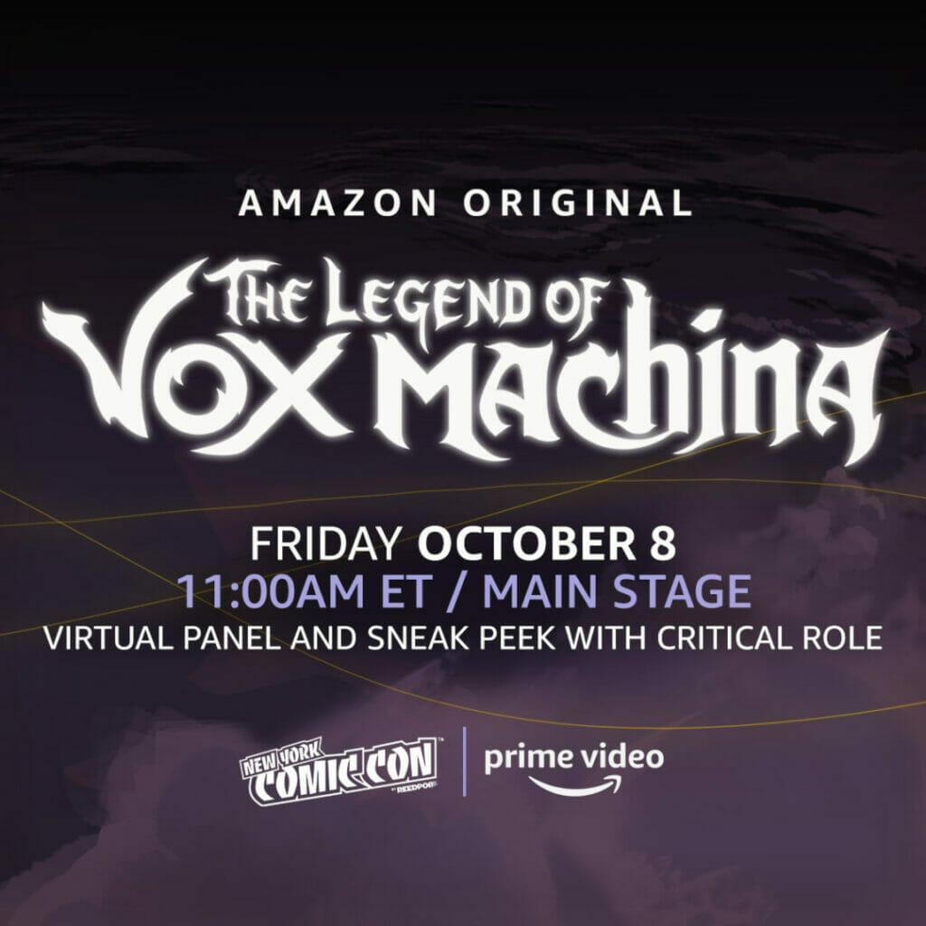 New York Comic Con The Legend of Vox Machina The Nerdy Basement