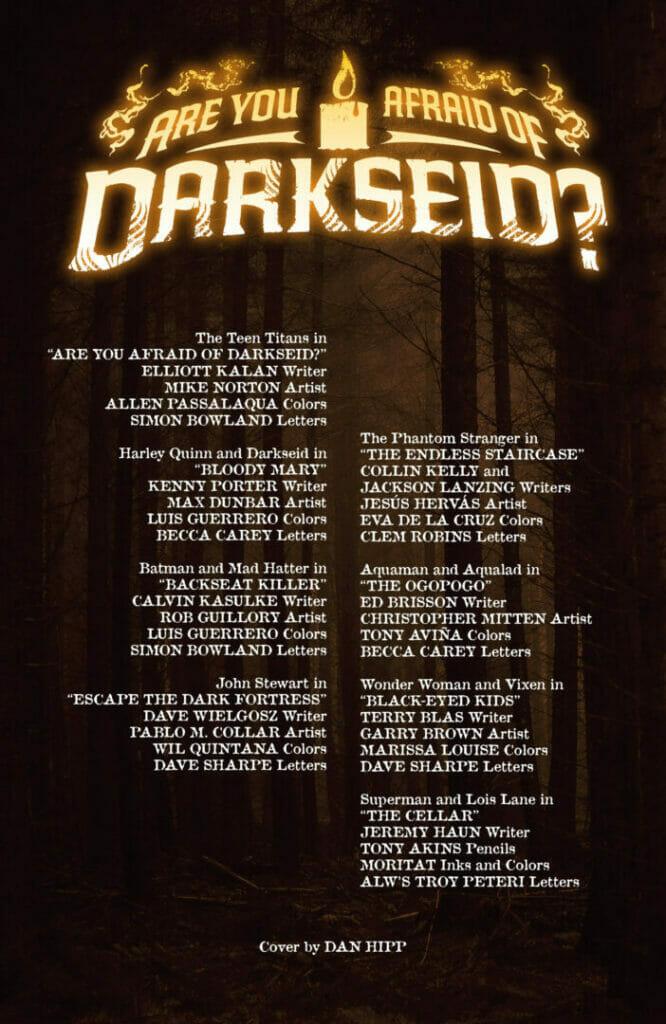 Are You Afraid of Darkseid? #1 The Nerdy Basement
