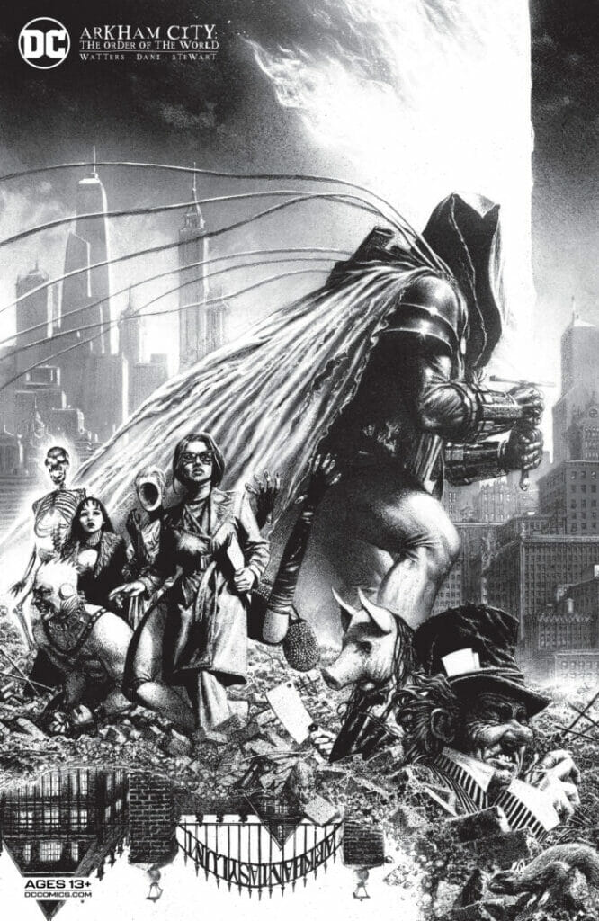 Arkham City: The Order of the World #1 The Nerdy Basement