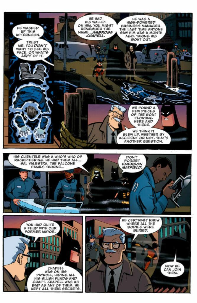Batman: The Adventures Continue Season Two #5 The Nerdy Basement
