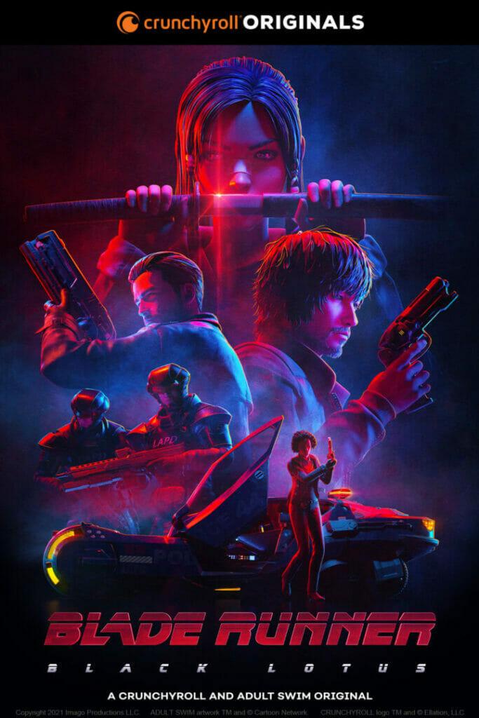 Blade Runner: Black Lotus Crunchyroll 2021 The Nerdy Basement