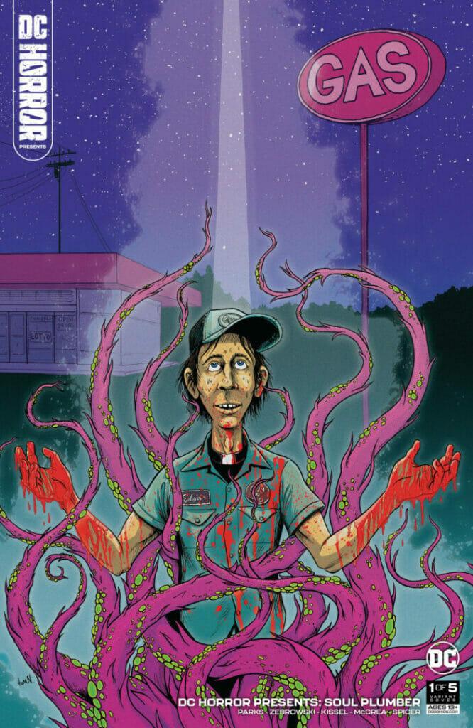 DC Horror Presents: Soul Plumber #1 The Nerdy Basement
