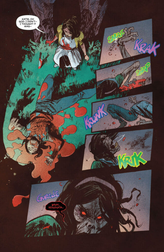 DC Horror Presents: The Conjuring: The Lover #5 The Nerdy Basement