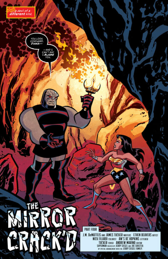 Justice League: Infinity #4 The Nerdy Basement