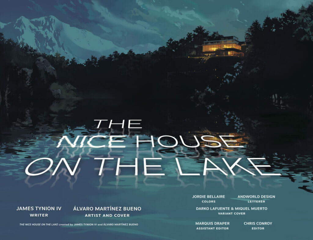 The Nice House on the Lake #1 The Nerdy Basement