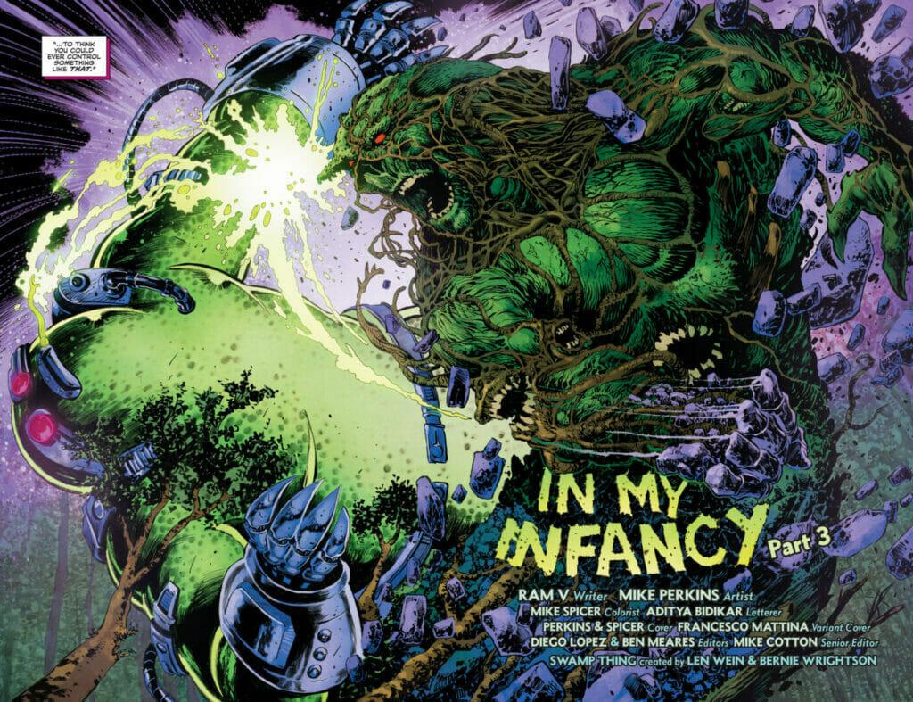 Swamp Thing #8 The Nerdy Basement